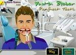 Джастин Бибер у зубного врача