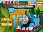 Поезд Томас перевозит фрукты