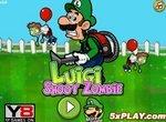 Луиджи отстреливает зомби
