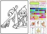 Раскраска: Волшебные феи Винкс