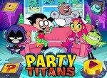 Юные титаны на вечеринке