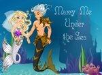 Свадебная одевалка русалки
