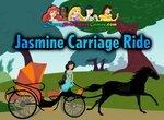 Принцесса Жасмин едет в карете