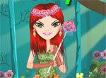 Изящная цветочная фея