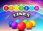 Радужные линии из шариков