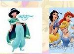 Дисней: Карточки с принцессами