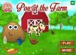 Поу работает на ферме