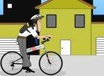 Начинающий велосипедист
