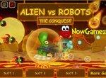 Битва пришельца с роботами