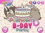 Кот Пушок празднует день рождения