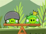 Angry Birds: Баланс свиней