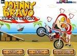 Джонни Браво: Трюки на мотоцикле