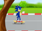 Соник на скейте