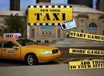 Водитель такси в городе Нью-Йорк