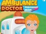 Беременная в карете скорой помощи
