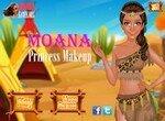 Макияж для принцессы Моаны