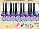 Мелодия на пианино от пони