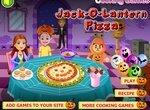 Пицца на Хэллоуин: Светильник Джека