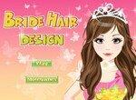 Создай красивую прическу невесте
