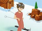Бакуган: Спуск на лыжах