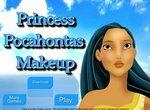 Модный макияж для принцессы Покахонтас
