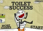 Туалетный успех Троллфейса