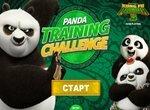 Кунг фу Панда тренирует малышей
