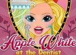 Эппл Вайт у стоматолога