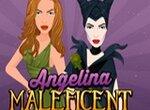 Анжелина в образе Малефисенты