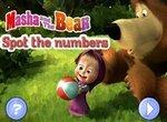 Маша и Медведь в поисках цифр