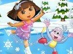 Даша танцует на льду