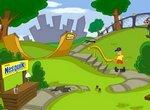 Приключения кролика Несквик  в парке