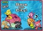 Команда Суши Пак спасает город