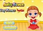 Малышка Севен: Игрушечные самолетики