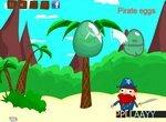 Пират собирает яйца