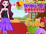 Одевалка: День рождения Рейвен Квин