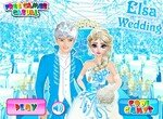Подготовка Эльзы и Джека к свадьбе
