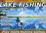 Одиночная рыбалка на озере