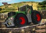 Супер гонки на крутых тракторах