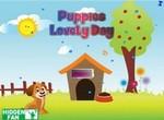 Чудесный день щенка