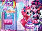 Девушки Эквестрии в косметическом салоне