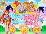 Диснеевские принцессы в клубе Винкс