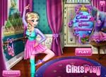 Эльза мечтает взяться балериной