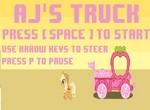 Эпплджек гоняет на грузовике