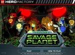 Фабрика героев Лего на дикой планете