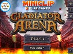 Гладиаторские драки на арене