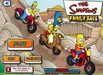 Гонки с семейством Симпсонов
