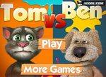 Говорящая собака Бен против кота Тома