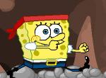 Губка Боб в опасной пещере