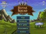 Королевский отряд защищает королевство